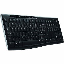 LOGITECH Wireless tipkovnica K270 - EER - US International layout