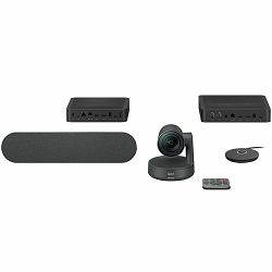 LOGITECH Rally Ultra-HD ConferenceCam - BLACK - USB - PLUGC - EMEA - EU