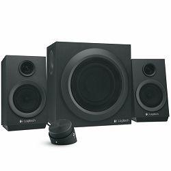 LOGITECH Audio System 2.1 Z333 - EMEA28 - BLACK