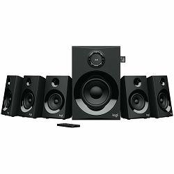 LOGITECH Z607 5.1 Surround Sound with Bluetooth - BLACK - BT - PLUGC - EU