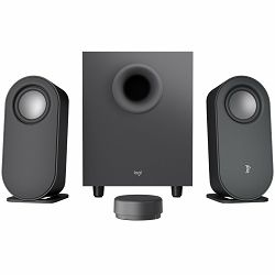 LOGITECH Z407 Bluetooth computer speakers with subwoofer and wireless control - GRAPHITE - BT - EMEA