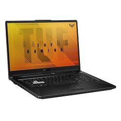 Laptop ASUS TUF Gaming F17 FX706LI-H7114 / Core i7 10870H, 16GB, SSD 512GB, GeForce GTX 1650Ti 4GB, 17.3'' FHD IPS 120Hz, FreeDOS, sivo