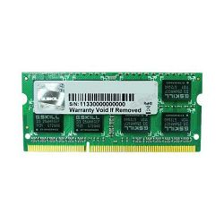 Memorija SO-DIMM PC-12800, 4 GB, G.SKILL F3-12800CL11S-4GBSQ, DDR3 1600 MHz