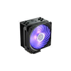 Cooler COOLERMASTER Hyper 212 RGB Black Edition, socket 2066/2011-v3/2011/1151/1150/1155/1156/1366/AM4/AM3+/AM3/AM2+/AM2/FM2+/FM2/FM1