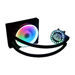 Cooler LC POWER LC-CC-120-LiCo-ARGB-Liquid, socket 775/1150/1151/1155/1156/1366/2011/2011-3/2066/FM1/FM2/FM2+/AM2/AM2+/AM3/AM3+/AM4