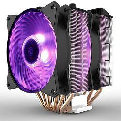 Cooler COOLERMASTER MasterAir MA620P, RGB, socket 2066/2011-v3/2011/1200/1151/1150/1155/1156/1366/775/AM4/AM3+/AM3/AM2+/AM2/FM2+/FM2/FM1