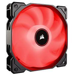 Ventilator CORSAIR AF120 LED Red, 120mm, 1400 ±10% okr/min