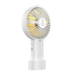 Stolni ventilator ORICO WT-H1, baterija, USB, bijelo/žuti
