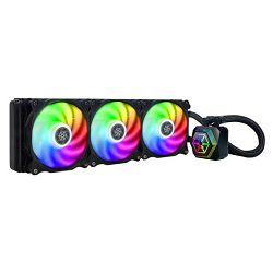 Vodeno hlađenje SILVERSTONE PF360-ARGB, CPU hlađenje, s. 775/1150/1151/1155/1156/1200/2066/2011/1366/AM2/AM3/AM4/FM1/FM2