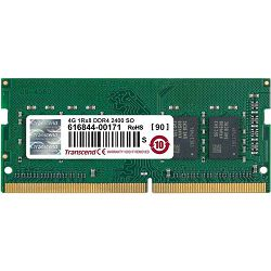 Memorija SO-DIMM PC-19200, 4 GB, TRANSCEND TS512MSH64V4H, DDR4 2400MHz