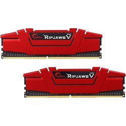 Memorija PC-21300, 8 GB, G.SKILL Ripjaws V series, F4-2666C15D-8GVR, DDR4 2666MHz, kit 2x4GB