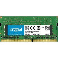 Memorija SO-DIMM PC-21300, 16 GB, CRUCIAL CT16G4SFD8266, DDR4 2666MHz