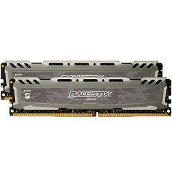 Memorija PC4-21300, 16 GB, CRUCIAL Ballistix Sport LT BLS2K8G4D26BFSBK, DDR4 2666MHz, kit 2x8GB
