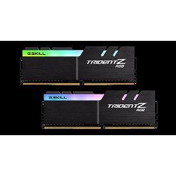 Memorija PC-32000, 16 GB, G.SKILL Trident Z RGB, F4-4000C18D-16GTZRB, DDR4 4000MHz, kit 2x8GB