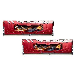 Memorija PC-19200, 8 GB, G.SKILL Ripjaws 4 series, F4-2400C15D-8GRR, DDR4 2400MHz, kit 2x4GB