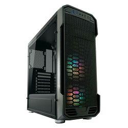 Kućište LC POWER LC-984B-ON-RGB Dragonslayer 2, MIDI, ATX, window, crno, bez napajanja