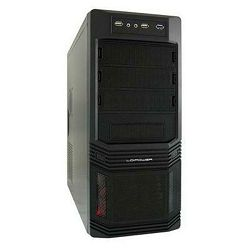 Kućište LC POWER Pro-925B, MIDI, ATX, crno, bez PS-a