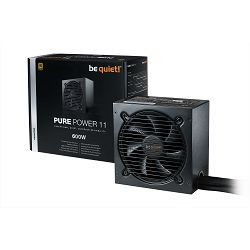 Napajanje 600W, BE QUIET Pure Power 11, 120mm vent., 80+ Gold, PFC