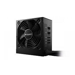Napajanje 500W CM, BE QUIET System Power 9, 120mm vent., 80+ Bronze, Semi-modular, PFC