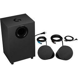 Zvučnici LOGITECH Gaming G560, 2.1, 120W, bluetooth, crni