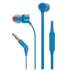 Slušalice JBL T110, in-ear, plave