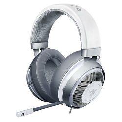 Slušalice RAZER Kraken Mercury, bijelo/srebrne
