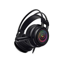 Slušalice RAMPAGE RM-K2 X-QUADRO RGB, 7.1, USB, crne