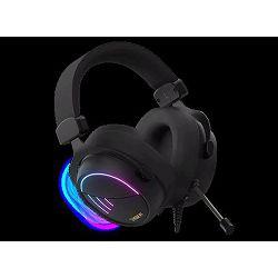 Slušalice GAMDIAS HEBE M2 RGB, 7.1 Virtual, USB, crne