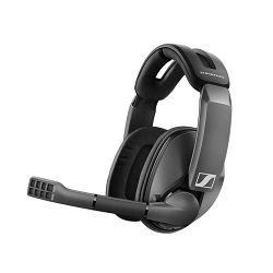 Slušalice SENNHEISER GSP 370, bežične, mikrofon, crne