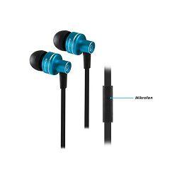 Slušalice RAMPAGE Phoenix, 3,5mm, In-Ear, mikrofon, crno - plave