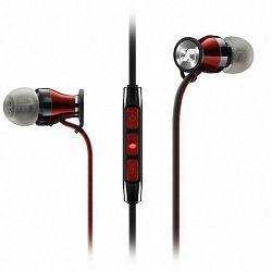 Slušalice SENNHEISER Momentum In-ear G, iOs, mikrofon, crno-crvene