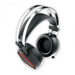 Slušalice GAMDIAS HEBE E1 RGB, USB, crne