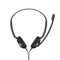 Slušalice SENNHEISER PC 8 chat, mikrofon, USB, crne
