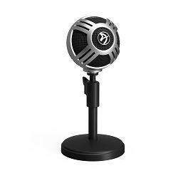 Mikrofon AROZZI Sfera PRO, srebrni