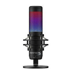 Mikrofon KINGSTON HyperX QuadCast S HMIQ1S-XX-RG/G, RGB, stolni, za PC i PS4, crni