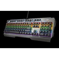 Tipkovnica TRUST GXT 877 Scarr, Gaming, mehanička, USB, US layout, crna