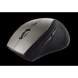 Miš TRUST Sura, optički, 1600dpi, bežični, USB, crno-sivi