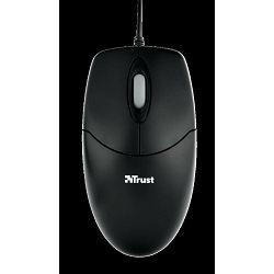 Miš TRUST Optical mouse, optički, 1000dpi, USB, crni