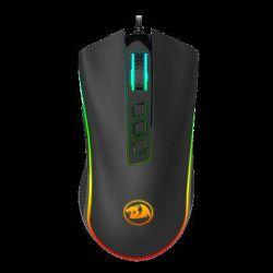 Miš REDRAGON Cobra Chroma M711, optički, 10000dpi, RGB, sivi, USB
