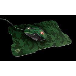 Miš + podloga za miš TRUST GXT 781 Rixa Camo, USB, optički