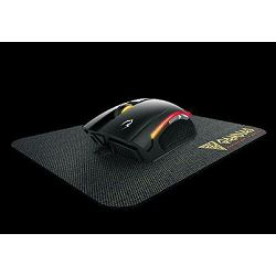 Miš + podloga za miš GAMDIAS Zeus E3, USB, optički, crni