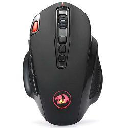 Miš REDRAGON Shark 2 M688-1, optički, bežični, 5000dpi, crni, USB