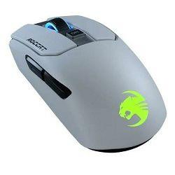 Miš ROCCAT Kain 202 AIMO, RGB, bežični, optički, 16000dpi, bijeli, USB