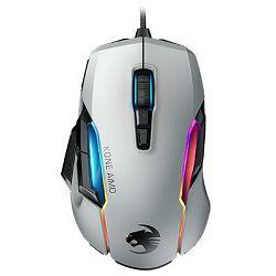 Miš ROCCAT Kone AIMO Remastered, RGB, žični, optički, 16000dpi, bijeli, USB