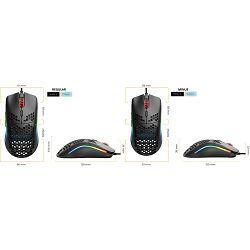 Miš GLORIOUS PC Gaming Race Model O Gaming Mouse, optički, bežični, RGB, 19000dpi, regular, mat bijeli, USB