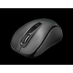 Miš TRUST Siero Silent, optički, 2400dpi, bežični, sivi