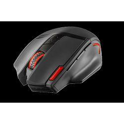 Miš TRUST GXT 130, 20687, optički, 2400dpi, bežični, crni