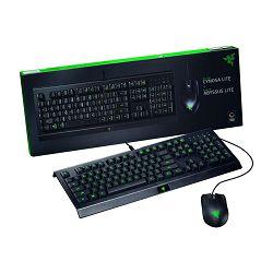 Tipkovnica + miš Razer Cynosa (Lite) & Abyssus (Lite), crna, USB