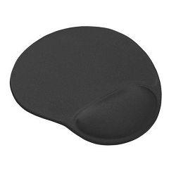 Podloga za miš TRUST BigFoot XL, sa pjenastom izbočinom za zapešće, crna