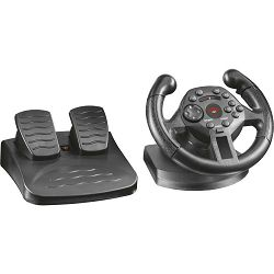 Volan TRUST GXT 570 Compact Vibration Racing Wheel, PS3/PC, USB
